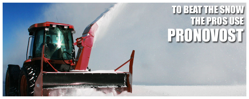 Pronovost Snowblower Banner